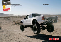 Off-Road Magazine Shot